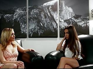 Big booty lesbians Cassidy Klein and Mia Malkova