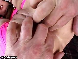 Samantha Roxx hardcore threesome