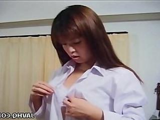 Sexy Asako Honma wild masturbation