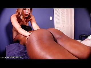 Lesbian Massage Harmonie Marquise Interracial