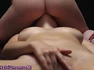 Masturbating mormon lez