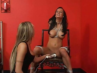 Perfect slave alektra amy seated and vibed