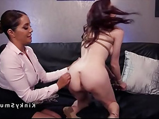 Lesbian doctor rimming and anal fingering babe