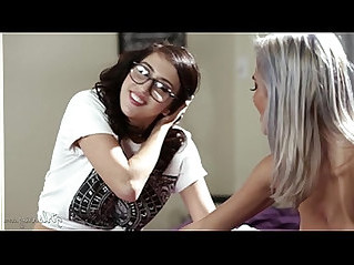 Busty Lesbian Couple Janice Griffith and April ONeil